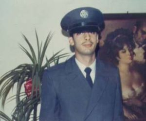 Ray Hanania at home after graduating from Basic Training in December 1973.. Photo courtesy of Ray Hanania