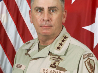 US Army General, CENTCOM Commander John Abizaid. Photo courtesy of Wikipedia
