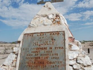 "Philip ""Hi Jolly"" Tedro (Tadros) Memorial Monument in Arizona Photo courtesy of Wikipedia"