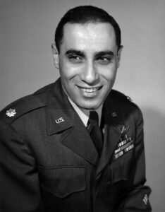 World War II Air Force Pilot James Jabara. Photo courtesy of Wikipedia